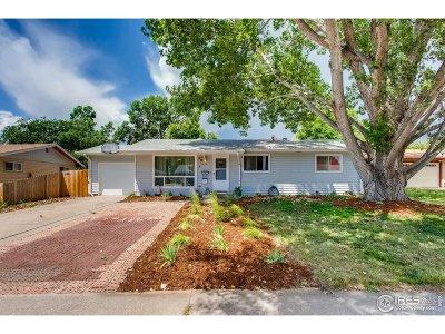 Loveland Single Family Home For Sale: 1619 James Dr