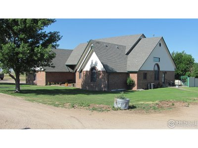 Fort Morgan Single Family Home For Sale: 11961 County Road 20