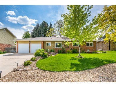 Greeley Single Family Home For Sale: 1415 44th Ave Ct