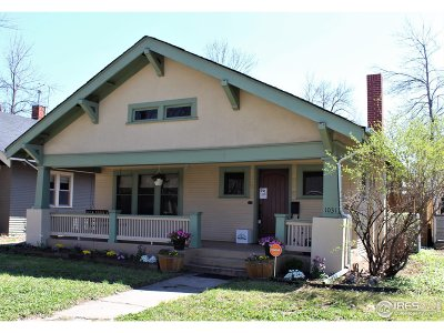 Single Family Home For Sale: 1031 W Oak St