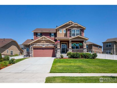 Longmont Single Family Home Active-Backup: 2094 Winding Dr