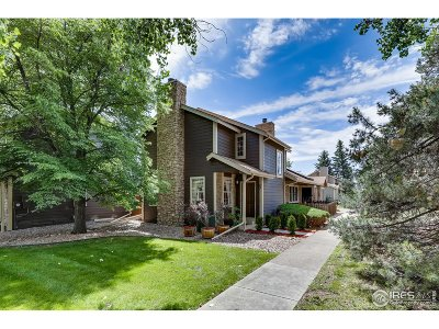 Boulder Condo/Townhouse For Sale: 3827 Paseo Del Prado