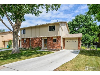 Fort Collins Condo/Townhouse For Sale: 1806 Belmar Dr