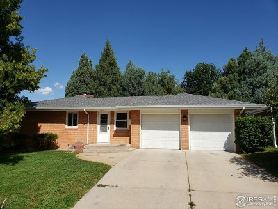 Greeley Single Family Home For Sale: 2130 16th St