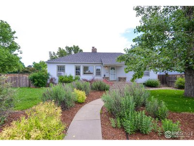 Fort Collins Single Family Home For Sale: 500 S Washington Ave