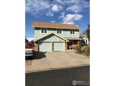 Longmont Single Family Home For Sale: 1509 Sumner St