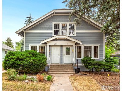 Fort Collins Multi Family Home For Sale: 724 Smith St