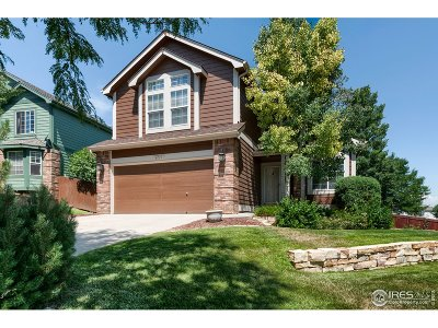 Larimer County Single Family Home For Sale: 4215 Foothills Dr