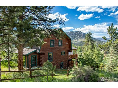 Estes Park CO Single Family Home For Sale: $649,000