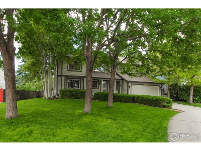 Longmont Single Family Home For Sale: 1428 Clover Creek Dr