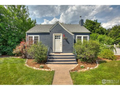 Fort Collins Single Family Home For Sale: 800 W Magnolia St