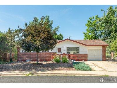 Boulder Single Family Home For Sale: 3976 Fuller Ct
