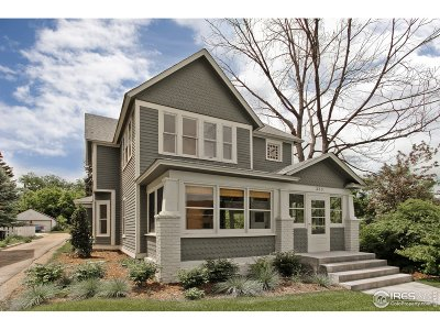 Longmont Single Family Home For Sale: 333 Terry St