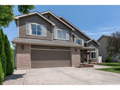 Fort Collins Single Family Home For Sale: 2938 Stonehaven Dr