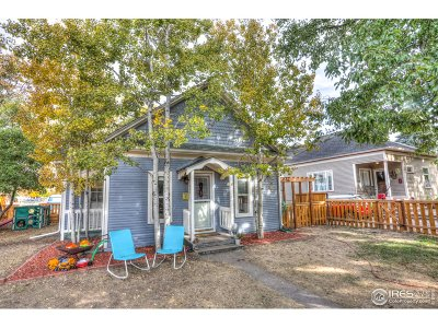 Fort Collins Single Family Home For Sale: 500 Smith St