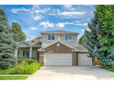 Boulder Single Family Home For Sale: 4564 S Hampton Cir