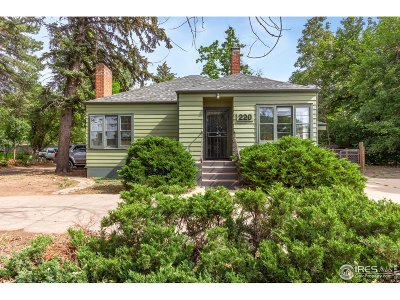 Fort Collins Single Family Home For Sale: 220 E Prospect Rd