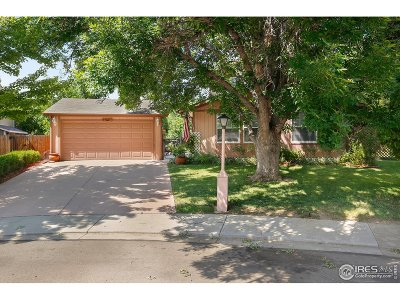Longmont Single Family Home For Sale: 426 Crystal Pl