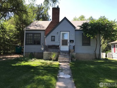 Greeley Single Family Home For Sale: 1735 Fairacre Dr