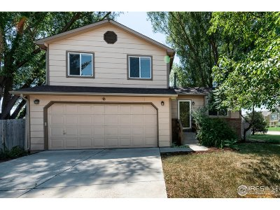 Fort Collins Single Family Home For Sale: 601 Lupine Dr
