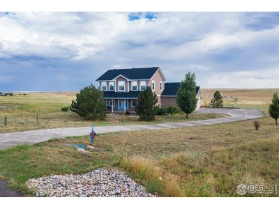 Weld County Single Family Home For Sale: 16488 Fairbanks Dr