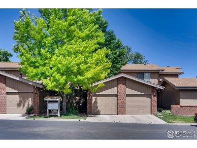 Boulder Condo/Townhouse For Sale: 3136 Eastwood Ct