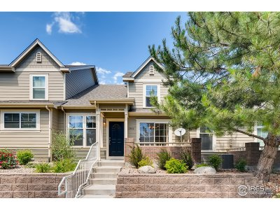 Fort Collins Condo/Townhouse For Sale: 2832 Rock Creek Dr