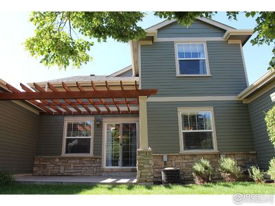 Fort Collins Condo/Townhouse For Sale: 4021 Yellowstone Cir #4