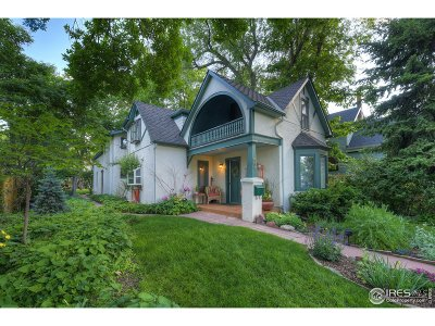 Boulder Single Family Home For Sale: 536 Maxwell Ave