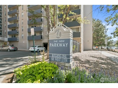 Condo/Townhouse For Sale: 601 W 11th Ave #717