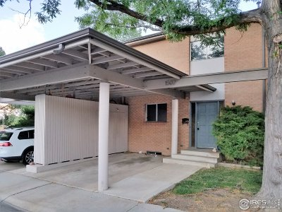 Boulder CO Condo/Townhouse For Sale: $530,000
