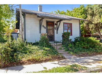 Boulder CO Single Family Home For Sale: $820,000