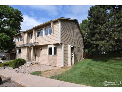 Fort Collins Condo/Townhouse For Sale: 1440 Edora Rds #1