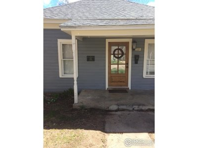 Single Family Home For Sale: 412 Wood St