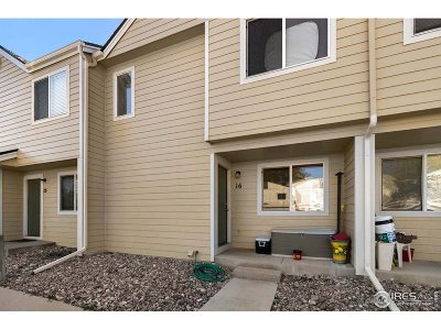 Fort Collins Condo/Townhouse For Sale: 3005 Ross Dr #16