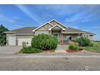 Greeley, Eaton, Loveland, Windsor, Fort Collins Single Family Home For Sale: 5505 E County Road 16