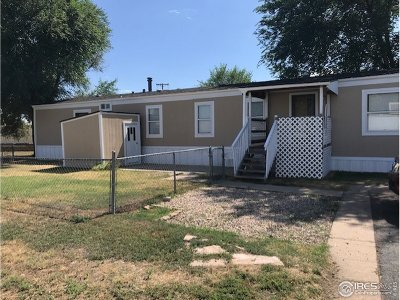 Greeley CO Single Family Home For Sale: $75,000