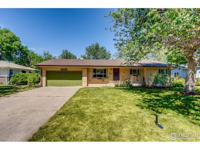 Fort Collins CO Single Family Home For Sale: $600,000