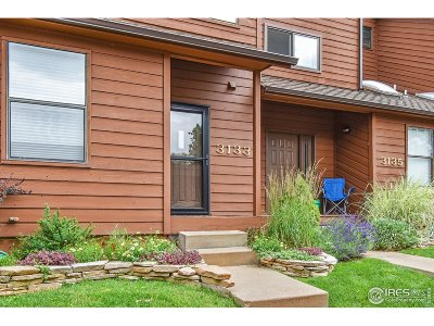Boulder CO Condo/Townhouse For Sale: $525,000