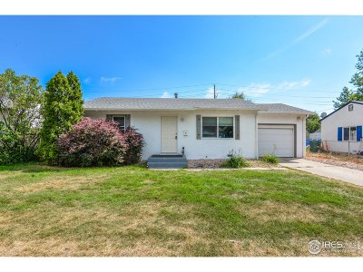 Greeley Single Family Home For Sale: 2106 8th St