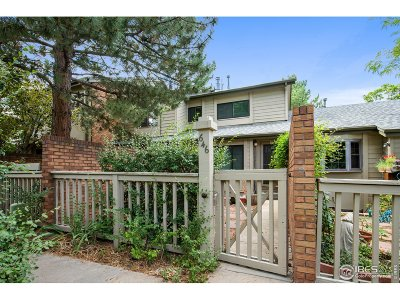 Boulder Condo/Townhouse For Sale: 646 Quince Cir
