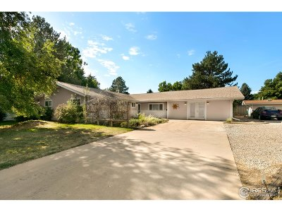 Fort Collins Multi Family Home For Sale: 819 W Prospect Rd