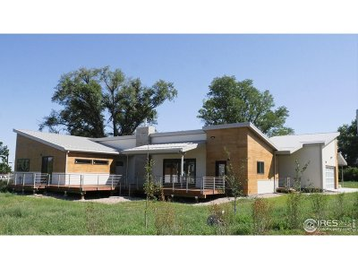 Boulder Single Family Home For Sale: 7585 Eggleston Dr
