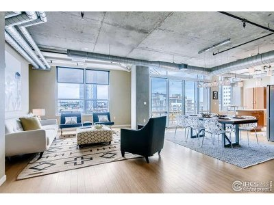 Denver Condo/Townhouse For Sale: 1401 Wewatta St #718