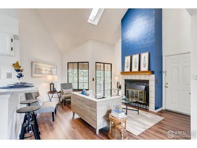 Boulder Condo/Townhouse For Sale: 4767 White Rock Cir #F