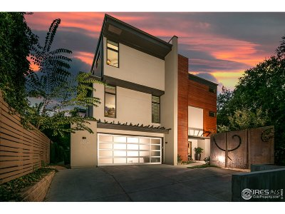 Boulder Condo/Townhouse For Sale: 635 Arapahoe Ave #B