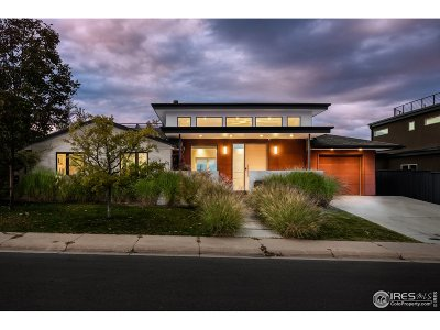 Boulder CO Single Family Home For Sale: $3,195,000