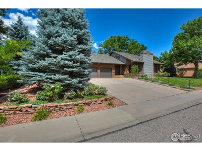 Fort Collins Single Family Home For Sale: 636 Hinsdale Dr