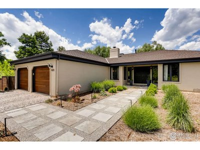 Boulder County Single Family Home For Sale: 4323 Apple Way