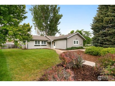 Fort Collins CO Single Family Home For Sale: $449,000